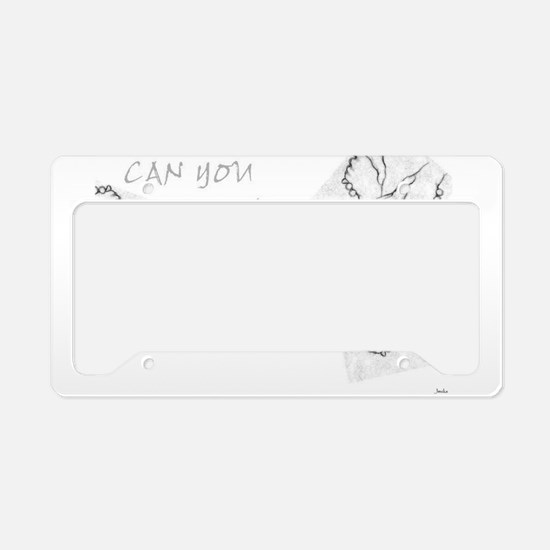 Jmcks CAn You Handle It License Plate Holder