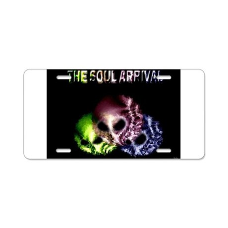 Jmcks The Soul Arrival Aluminum License Plate