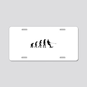 Evolution water skiing Aluminum License Plate