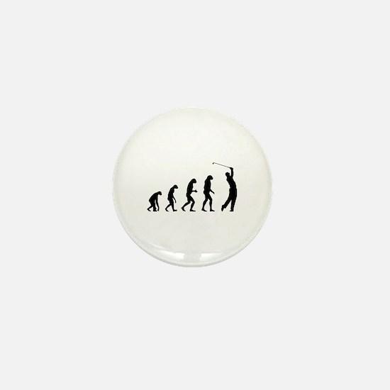 Evolution golfing Mini Button