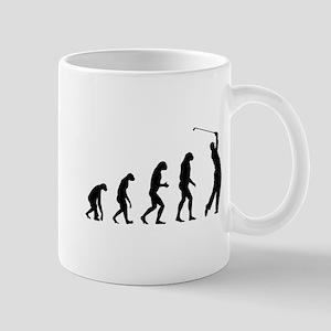 Evolution golfing Mug