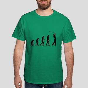 Evolution golfing Dark T-Shirt