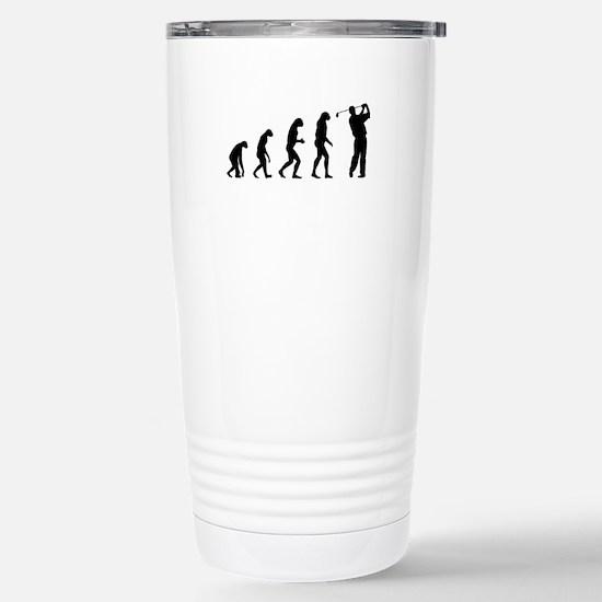 Evolution golfing Stainless Steel Travel Mug