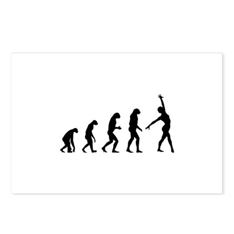 Evolution gymnastics Postcards (Package of 8)