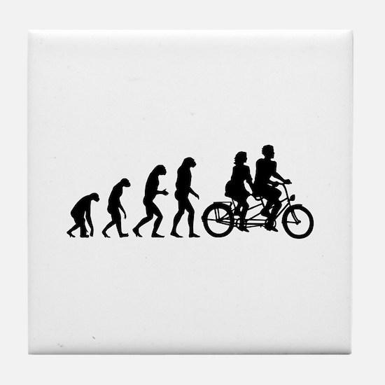 Evolution tandem Tile Coaster