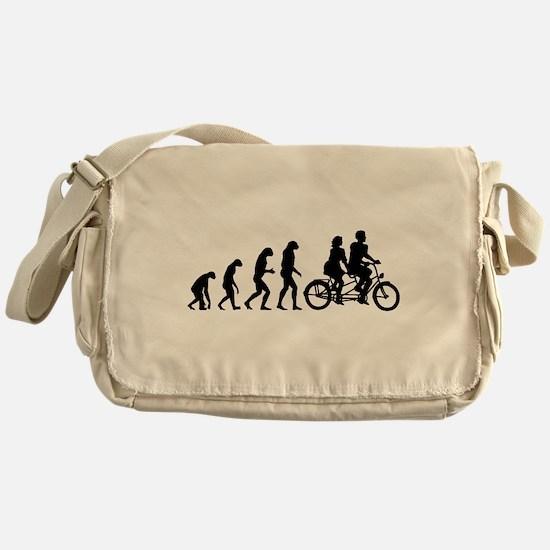 Evolution tandem Messenger Bag
