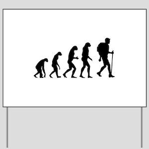 Evolution backpacker Yard Sign
