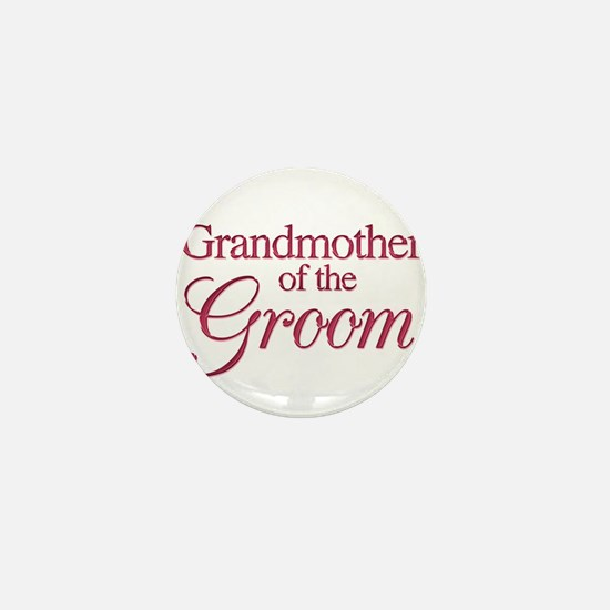 Grandmother of the Groom (win Mini Button