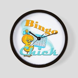 Bingo Chick #2 Wall Clock