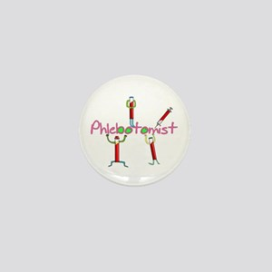 phlebotomist III Mini Button