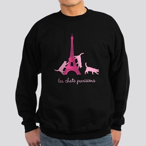 Cats of Paris (dark) Sweatshirt (dark)