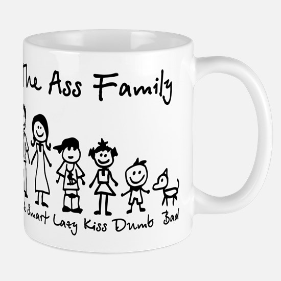 Ass Family Mug