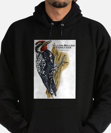Yellow-Bellied Sapsucker Hoodie (dark)