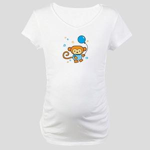 Lil' Monkey Maternity T-Shirt