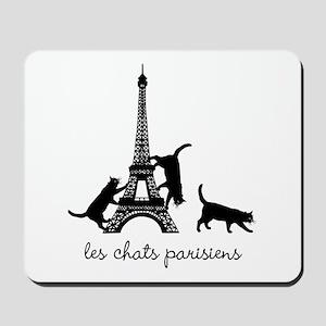 Cats of Paris Mousepad
