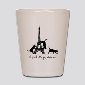 Cats of Paris Shot Glass