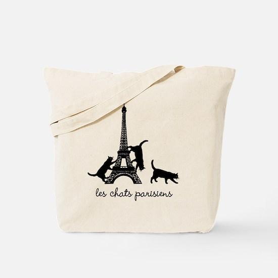 Cats of Paris Tote Bag