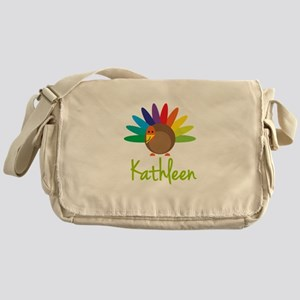 Kathleen the Turkey Messenger Bag