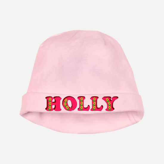 Holly baby hat