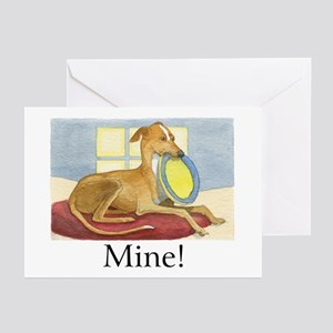 """MINE!"" (with copy) Greeting Cards (Pk of 10)"