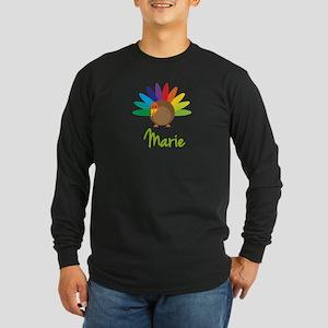 Marie the Turkey Long Sleeve Dark T-Shirt