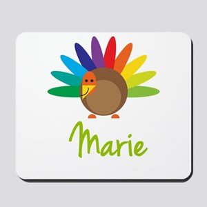 Marie the Turkey Mousepad