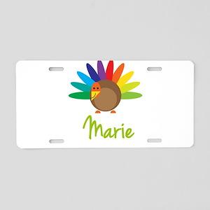 Marie the Turkey Aluminum License Plate