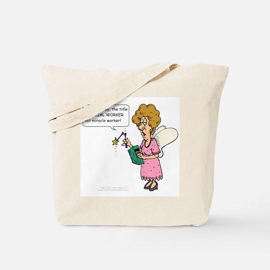 Miracle Worker Tote Bag