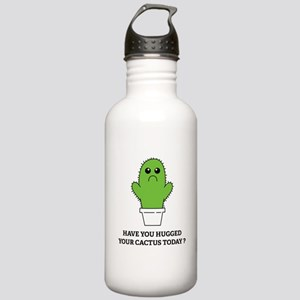 Hugged Your Cactus Stainless Water Bottle 1.0L
