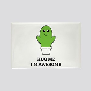 Hug Me I'm Awesome Rectangle Magnet