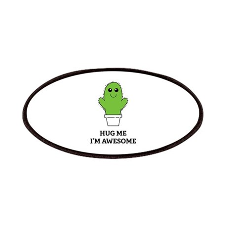Hug Me I'm Awesome Patches