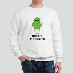 Hug Me I'm Awesome Sweatshirt