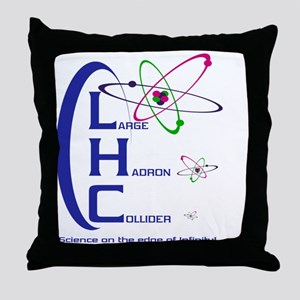 THE LHC Throw Pillow