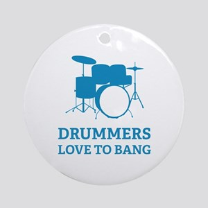 Drummers Ornament (Round)