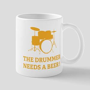 Drummer Beer Mug