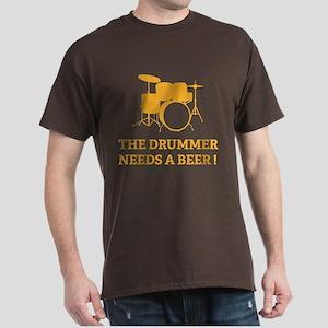 Drummer Beer Dark T-Shirt