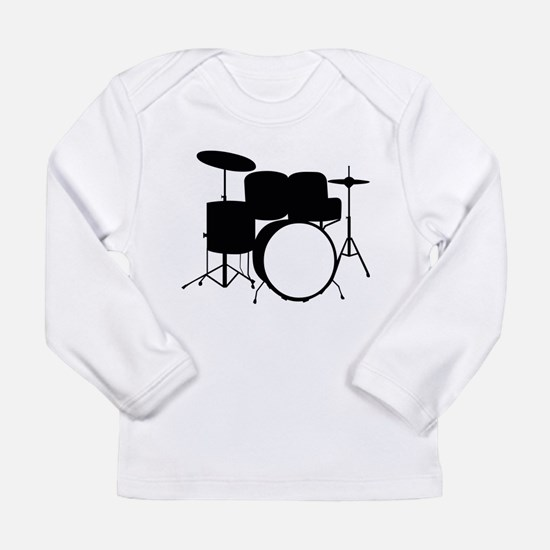 Drums Long Sleeve Infant T-Shirt