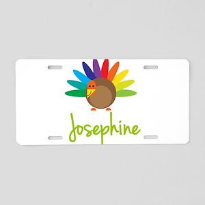 Josephine the Turkey Aluminum License Plate
