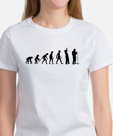 COMEDIAN EVOLUTION Women's T-Shirt