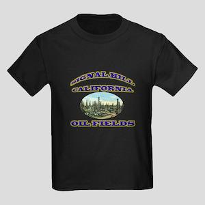 Signal Hill California Kids Dark T-Shirt