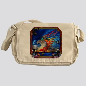 Good Hunting Eagle Sky Messenger Bag