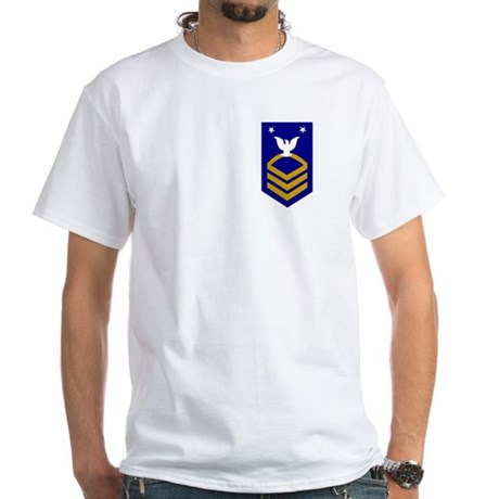 Master Chief<BR> White T-Shirt 1