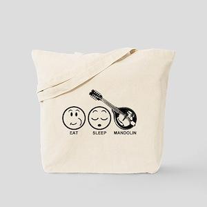 Eat Sleep Mandolin Tote Bag