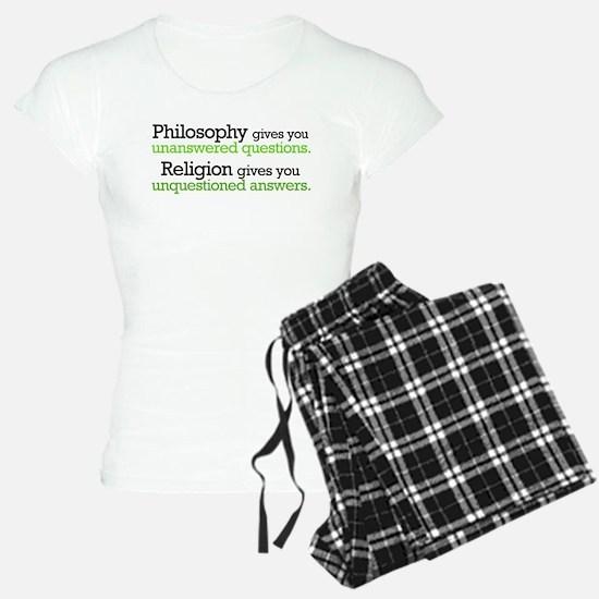 Philosophy & Religion Pajamas