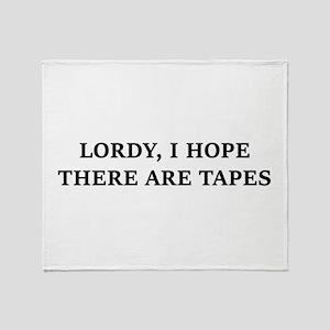 lordy lordy Throw Blanket