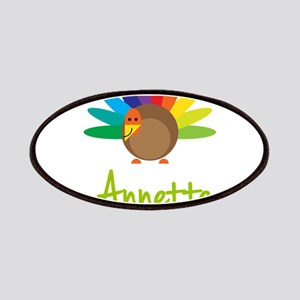 Annette the Turkey Patches