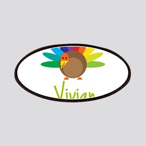 Vivian the Turkey Patches