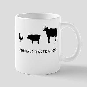 Animals Taste Good Mug