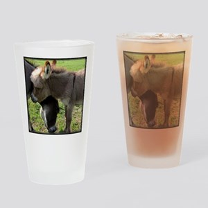 Baby Mini Donkey Hug Drinking Glass
