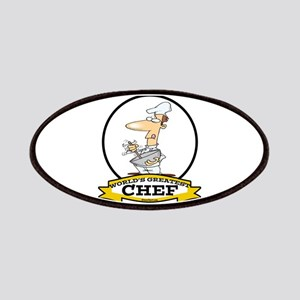 WORLDS GREATEST CHEF Patches